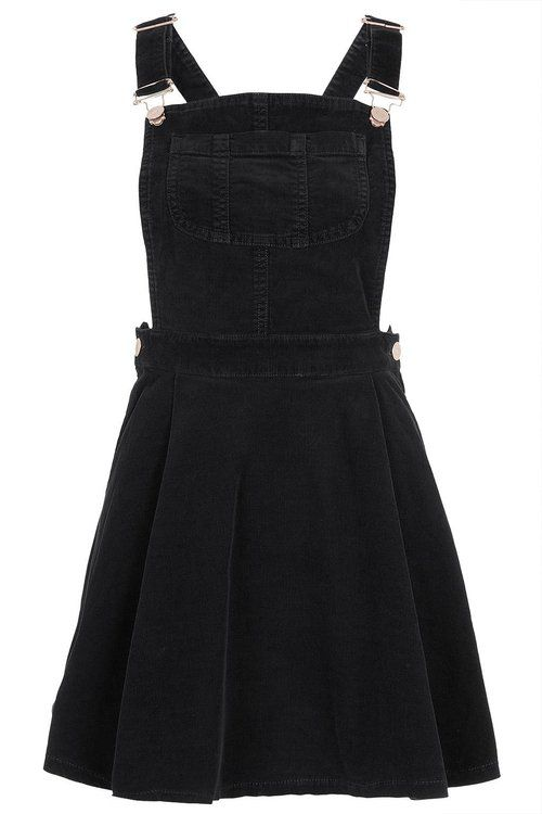 Black Corduroy Overall Dress Style Pinterest Cord