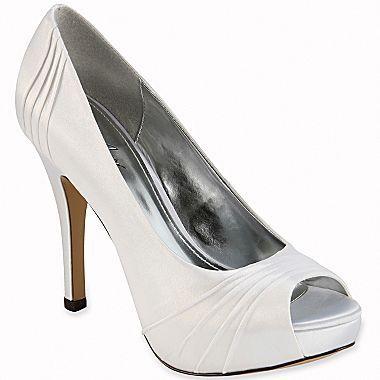Cute Wedding Shoes Womens Summer Shoes Peep Toe Pumps Bridesmaid Shoes