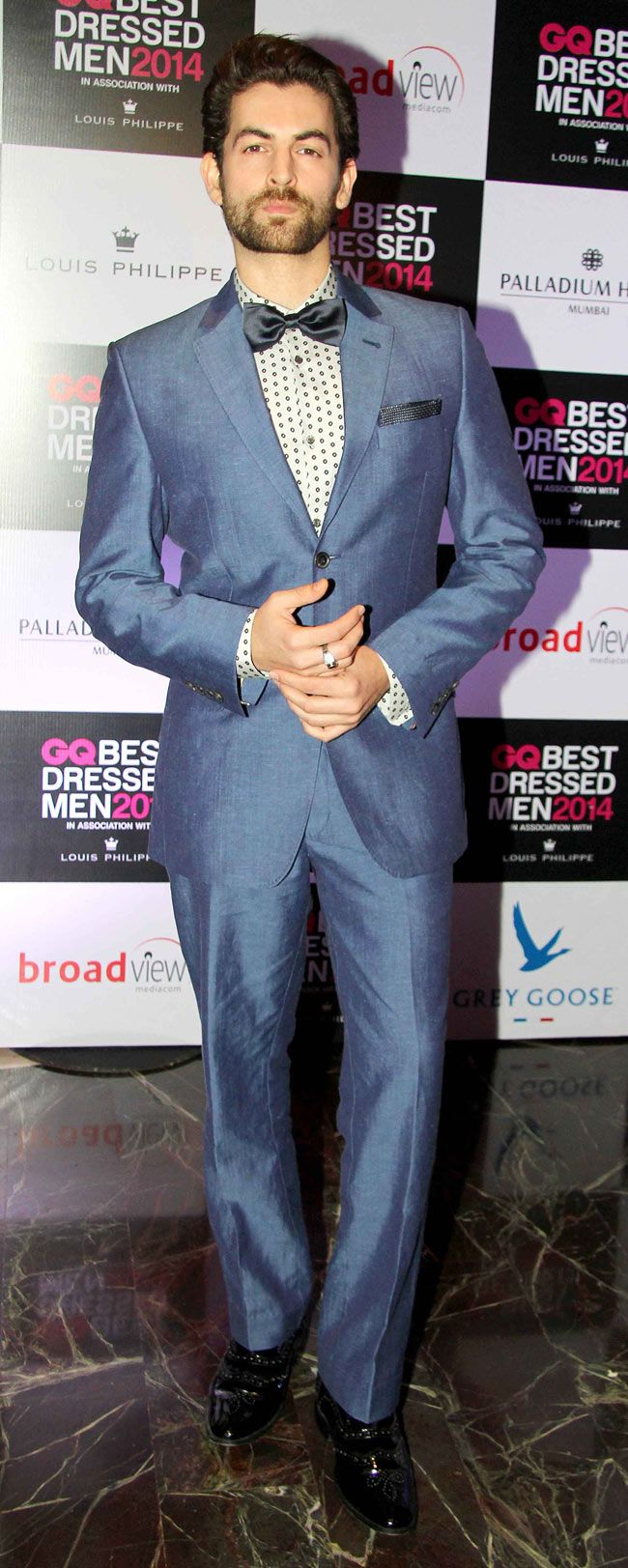 Neil Nitin Mukesh at GQ\'s Best Dressed Men 2014 party. #Style ...