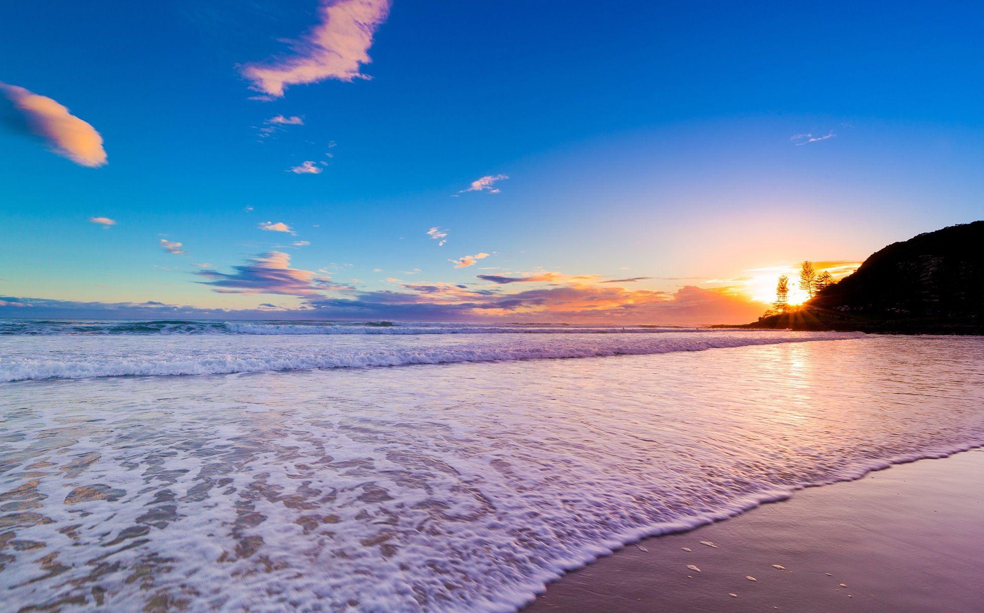 Gold Coast Queensland Australia Dream Travel Destinations Beach Landscapes Beautiful Sunrise Amazing World P Beach Wallpaper Nature Wallpaper Nature