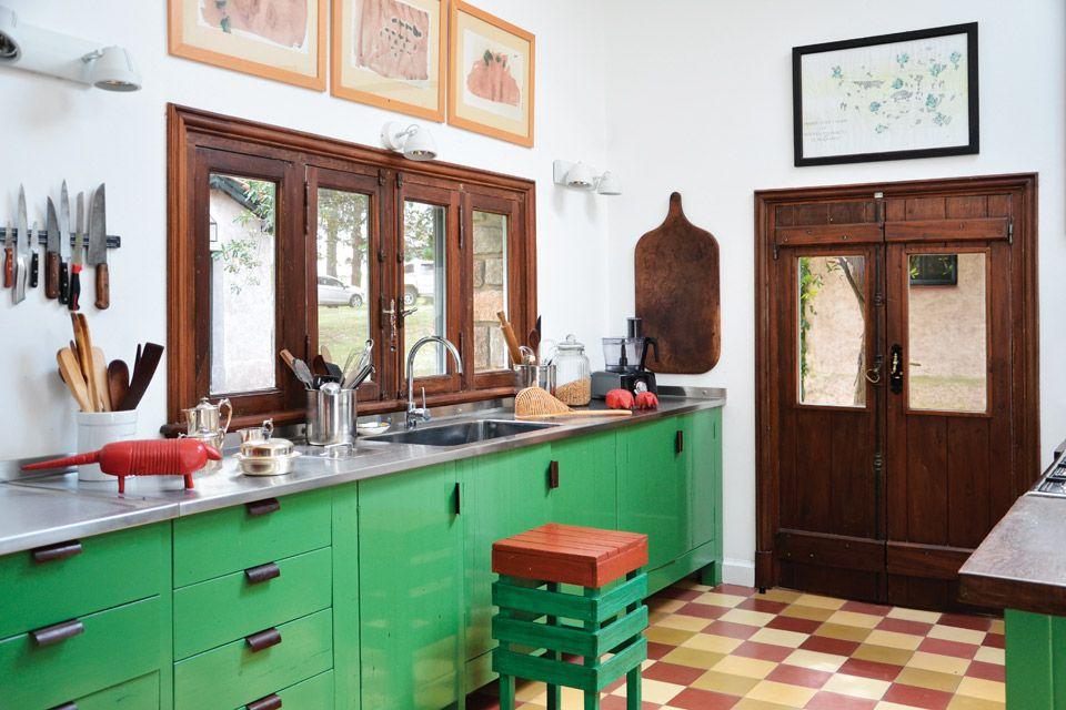 Tres casas con estilo campo cocinas r sticas casa de - Cocinas rusticas de campo ...