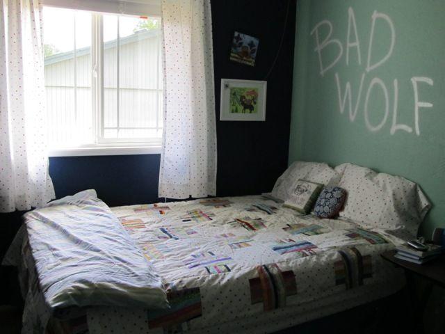 @Mackenzie Pruett Doctor Who Bedroom