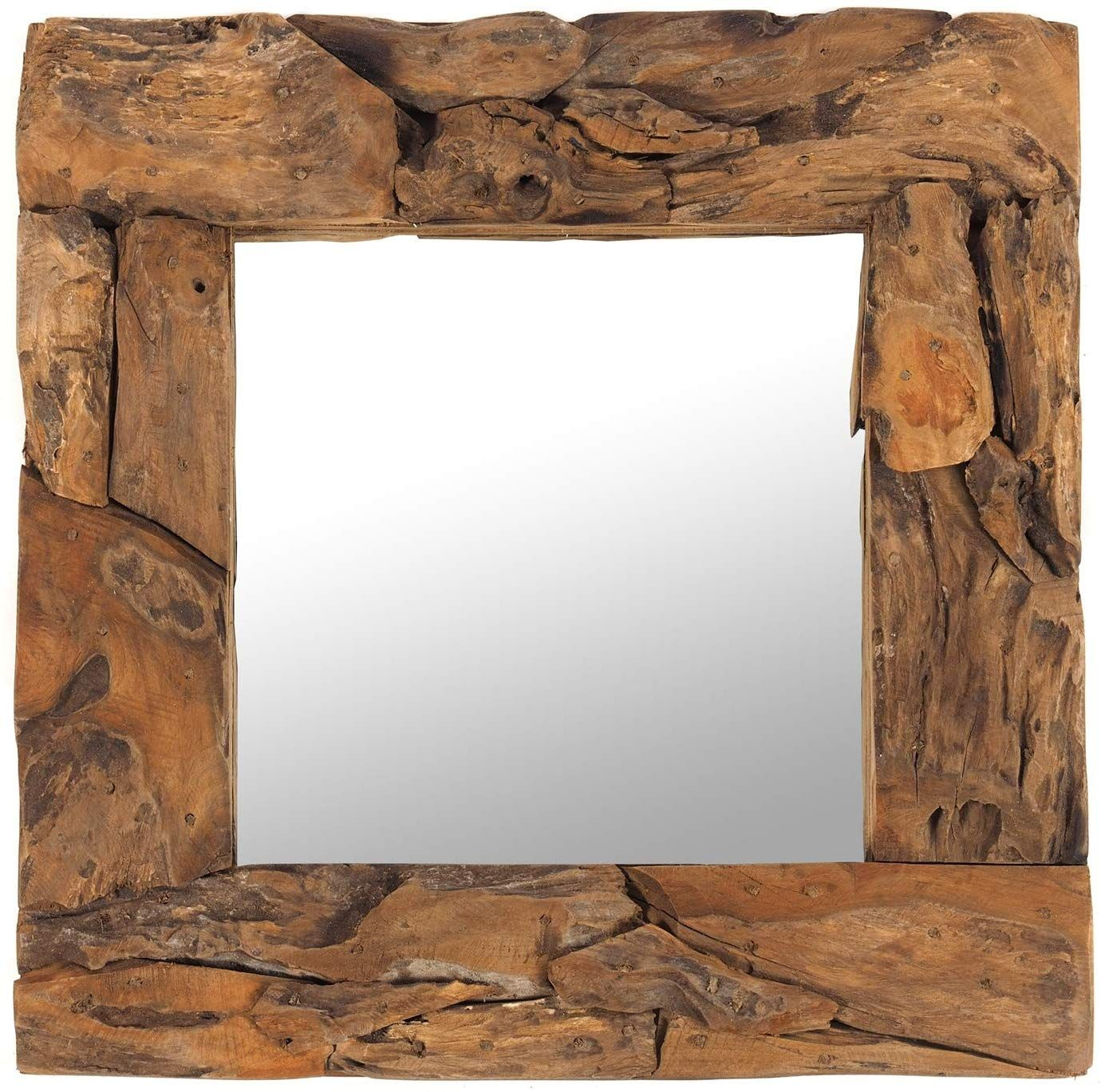 Diftwood Frame Wooden Mirror In 2020 Mirror Beautiful Mirrors