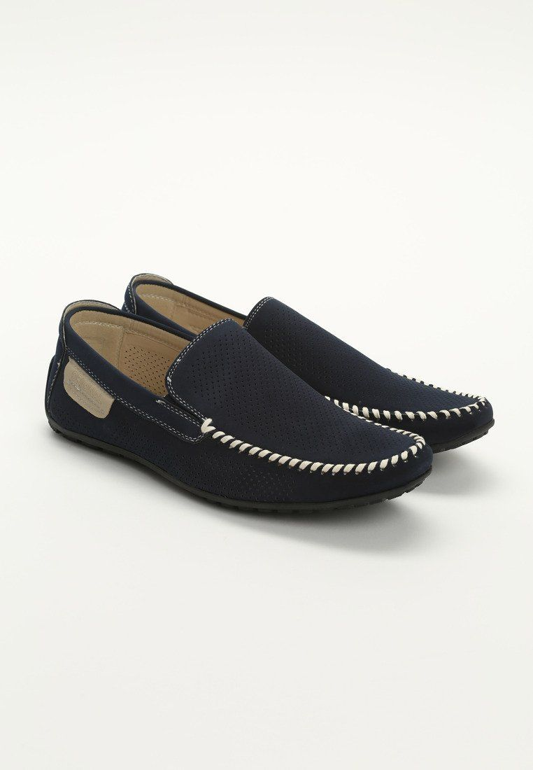 Granatowe Buty Meskie Nephilim Born2be Pl Loafers Shoes Fashion