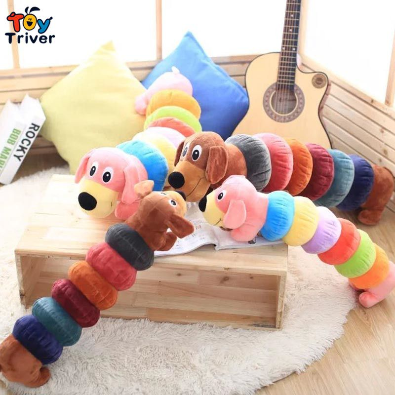 15 99 New Cartoon Caterpillar Dog Plush Toys Baby S Pillow