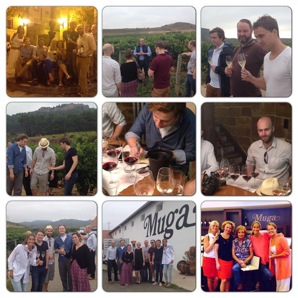 Muchísimas gracias a nuestros clientes y amigos de Noruega e Inglaterra. ¡Ha sido un placer teneros aquí con nosotros! #muga #riojawine #vino #bodega #winery