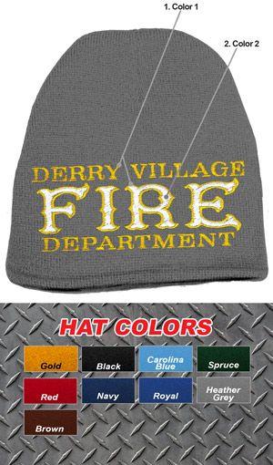 fd903eea8783f Custom Fire Department Old Style Knit Cap  14.95