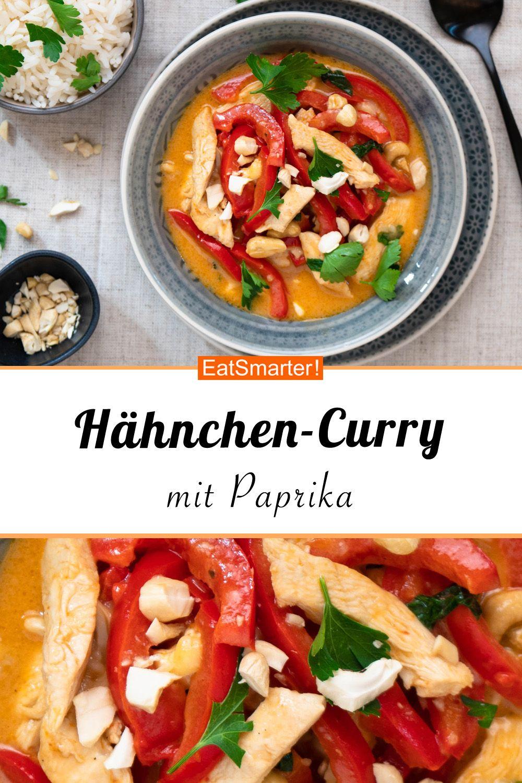 Hühnchen-Pfeffer-Curry mit Reis   – Clean Eating Rezepte