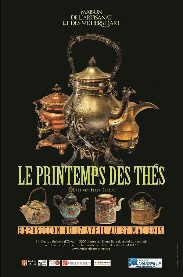 A rater sous aucun prétexte  l\u0027exposition « Le Printemps des thés