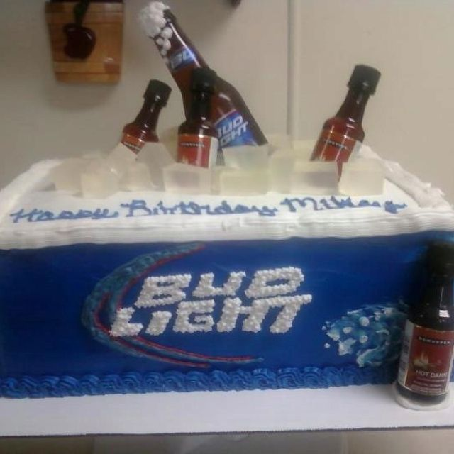 Bud Light Cake!! I Must Have This For My Bday