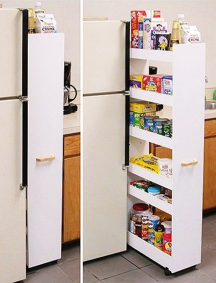 Diy Renovation Budget Busters Pull Out Pantry Rolling