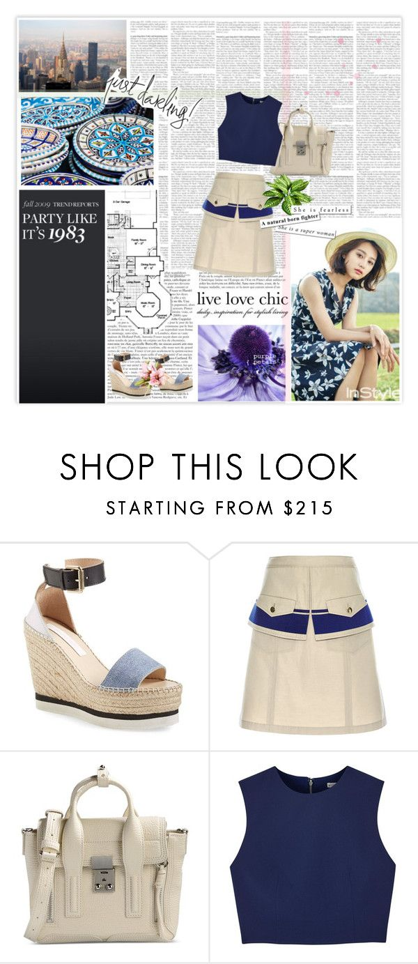"""Kim Ji Won"" by peachgirl100 ❤ liked on Polyvore featuring See by Chloé, Tanya Taylor, 3.1 Phillip Lim and Alice + Olivia"