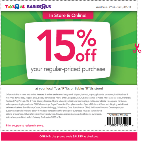 Toys R Us Coupons And Codes With Images Free Printable Coupons