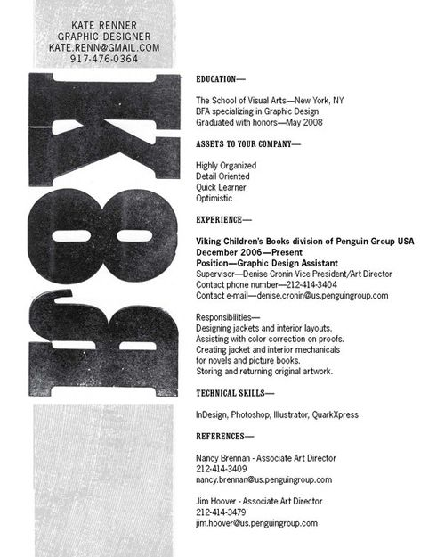 Creative Resume Designs 40 Stunningly Creative Resume Designs On Deviantart  Resumes