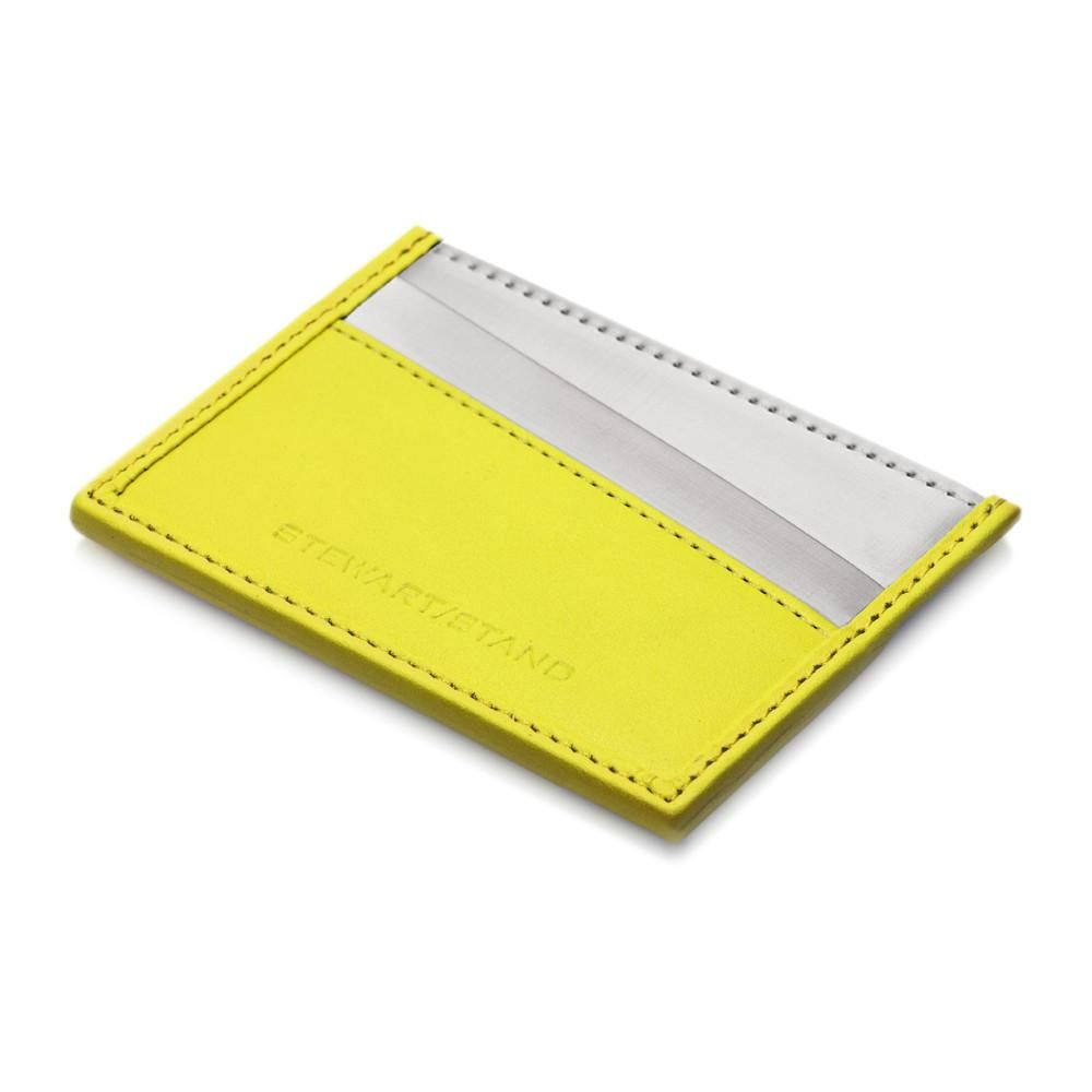 Card case yellow card case rfid blocking wallet and mens products card case yellow colourmoves