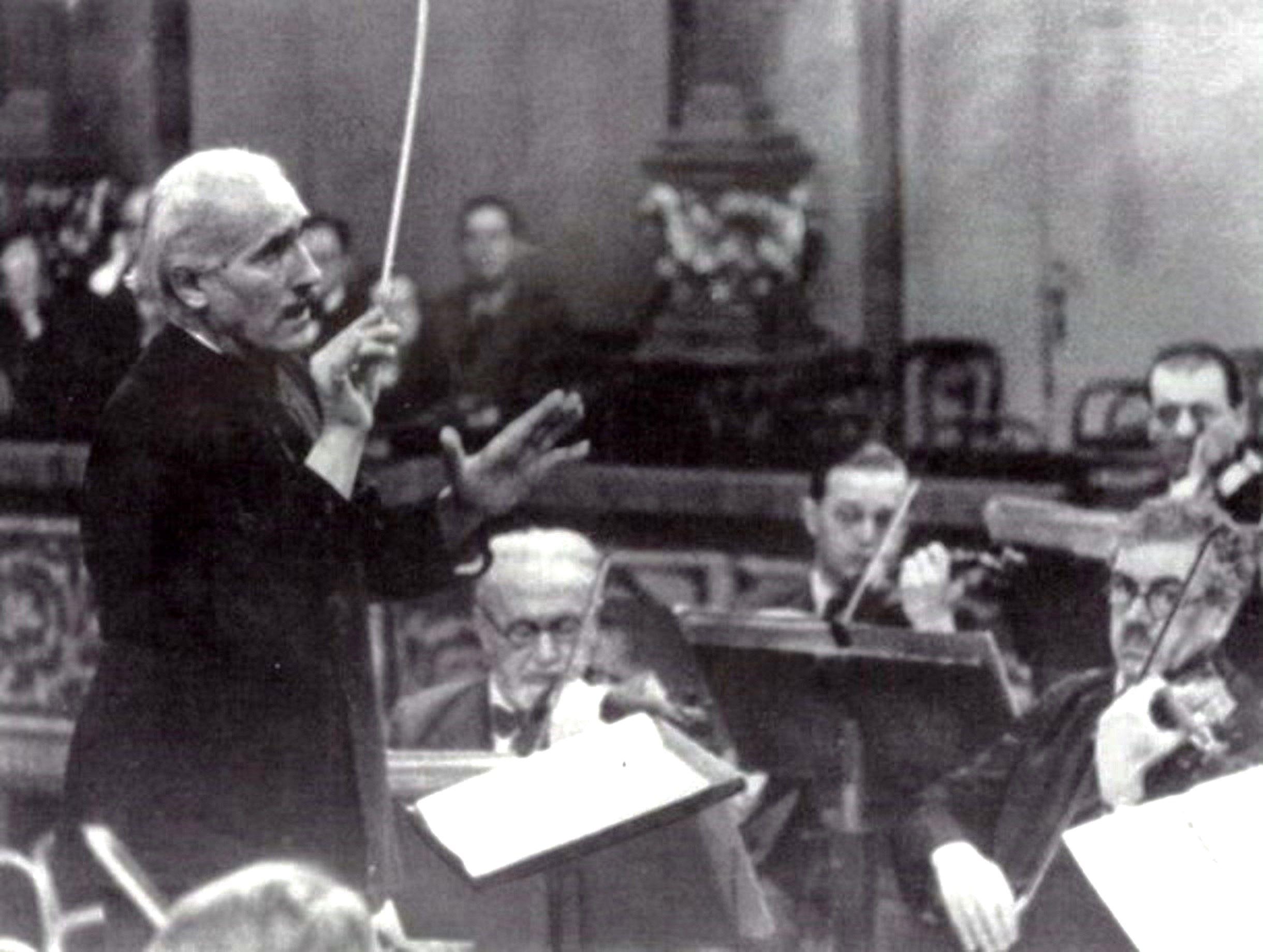 Arturo Toscanini and Wiener Philharmoniker, 1933-1937