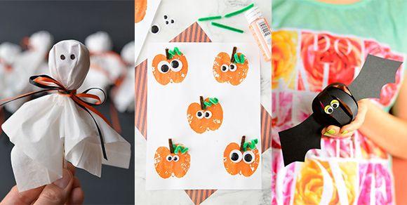 Halloween Deko Basteln Mit Kindern Jetzt Wird S Gruselig Bastelideen Halloween Deko Basteln Mit Kindern Halloween Deko Basteln Deko Basteln
