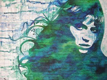 "Saatchi Art Artist Adit Goschalk; Painting, ""Breeze"" #art"