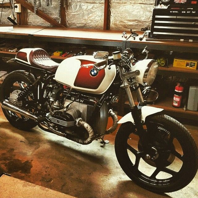 lemoncustommotorcycles: By @catalyst_machine #bmw # ...