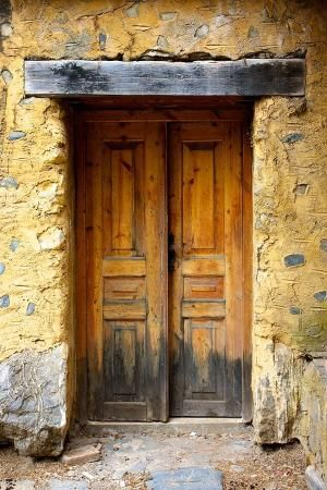Old door at Crete by marva