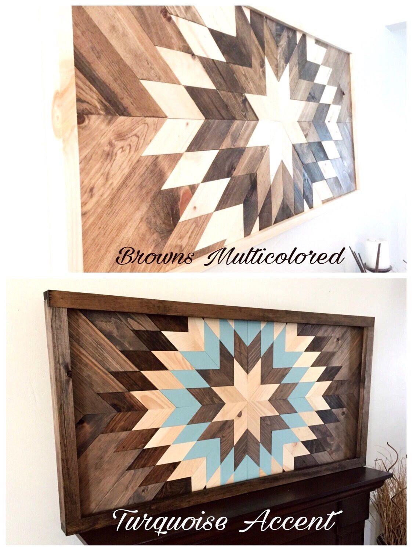 Reclaimed wood wall art wood wall decor wood art modern wall
