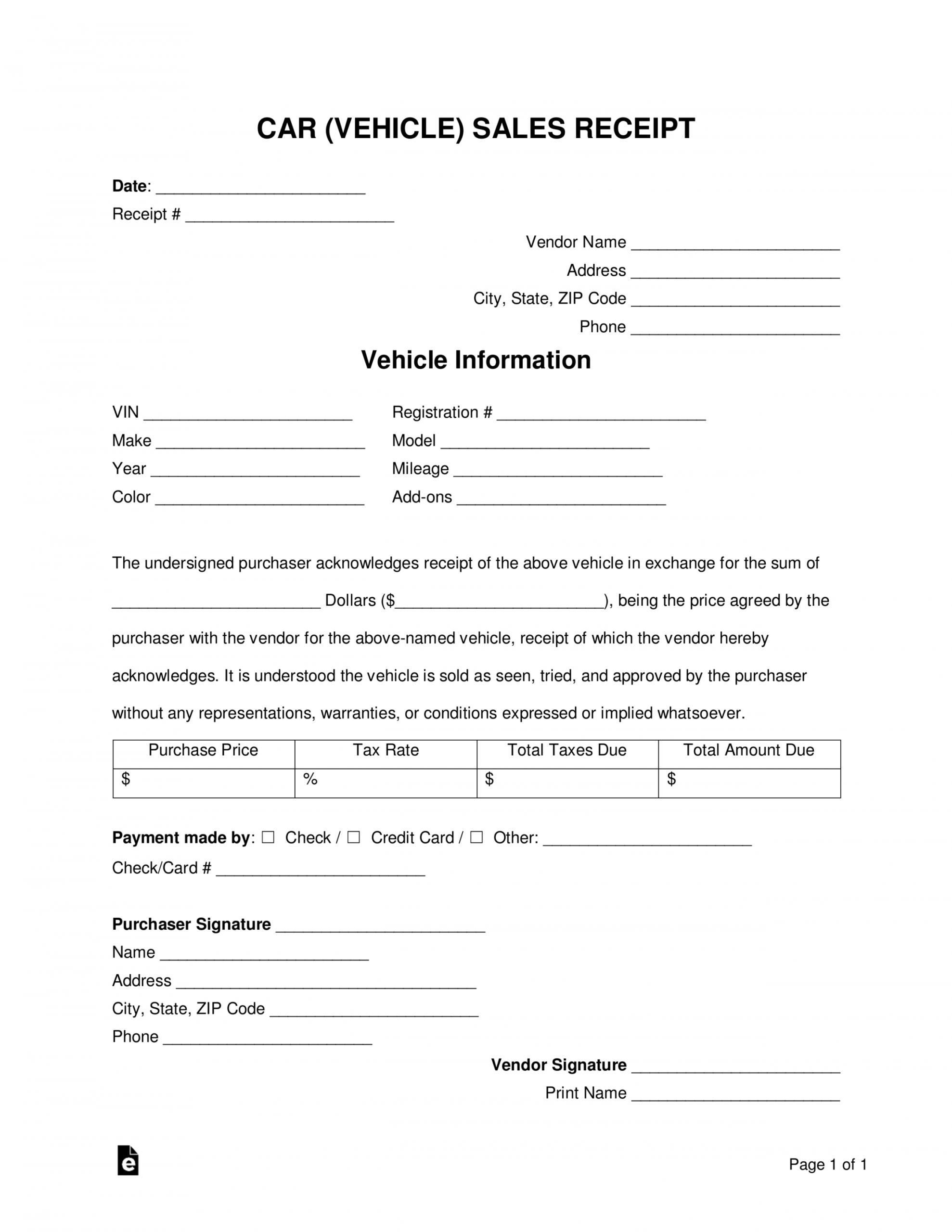 Get Our Example Of Private Car Sale Receipt Template Invoice Template Receipt Template Cars For Sale