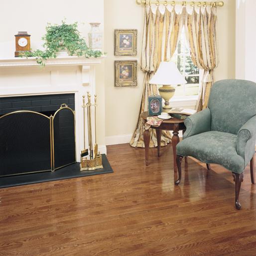 Hardwood Floors Living Room: Cocoa Oak #hardwood Floors For Living Room With Semi-gloss