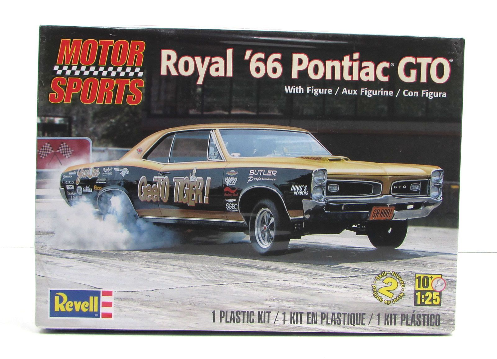 1969 cougar classic car restoration by doug jenkins garage - 1966 Pontiac Gto Royal Pontiac Revell 85 4037 1 25 New Car Model Kit