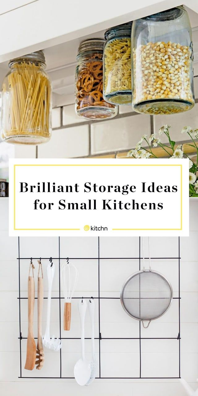 12 of the Most Brilliant Storage Ideas for Small Kitchens images