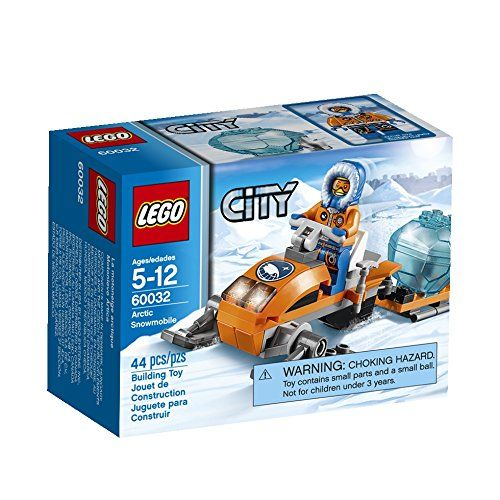 LEGO City Arctic Snowmobile 60032 Building Toy LEGO http://www ...