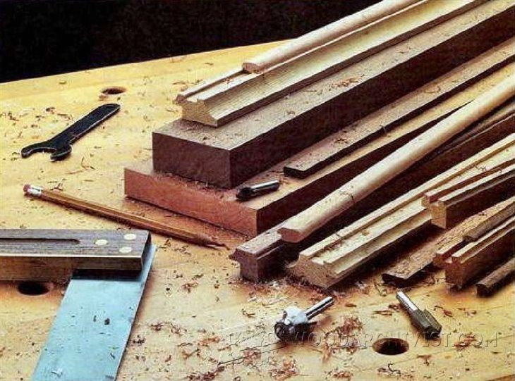 Making Picture Frame Moldings - Woodworking Plans and Projects ...