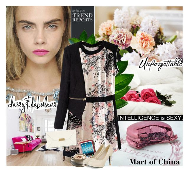 Floral style with Mart of China by brigitte-klaudia on Polyvore featuring polyvore fashion style STELLA McCARTNEY Grace Barneys New York women's clothing women's fashion women female woman misses juniors martofchina