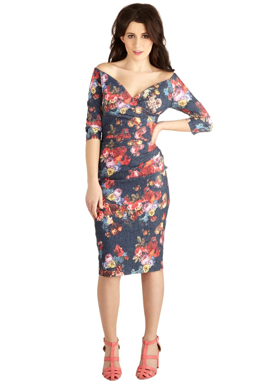 92d00b05cff30 Presidential Personality Dress in Floral. Youre excited to have been  elected president of your class, so when the ceremony honoring you and the  rest of the ...