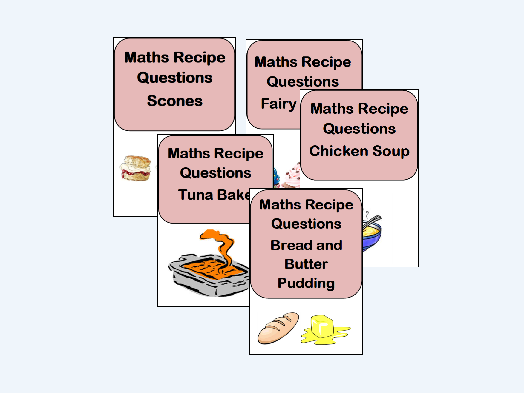 Proportion Ratio Recipes Bundle