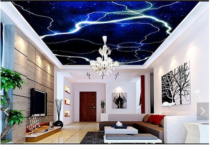 3d photo wallpaper custom 3d ceiling wallpaper murals condole top rh pinterest cl