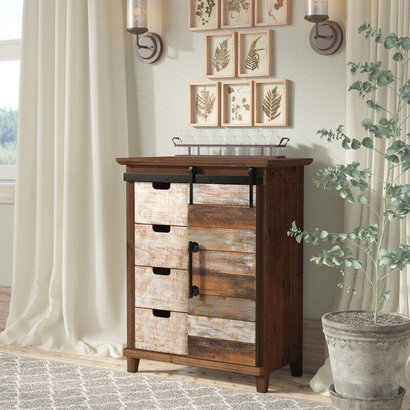 Tanja 1 Door Accent Cabinet Accent Doors Furniture Rustic Furniture