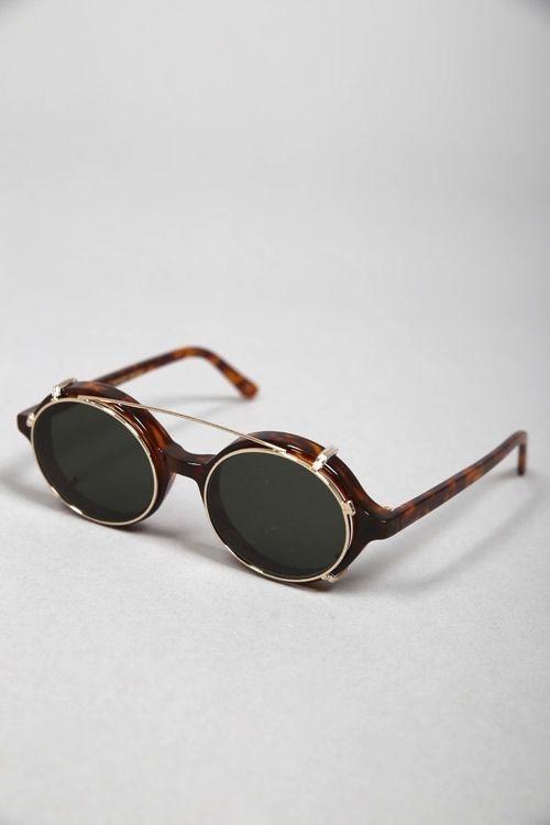 df4d7dc2a027e DOC CLIP-ON AMBER SUN  lunettes  de  soleil  ronde  homme  femme  men   women  sunglasses  clip  on  handmade  Carl  Zeiss  Graduate  Han   Kjobenhavn 135€