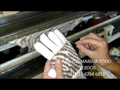 video 6 Explicación para montaje de dedos