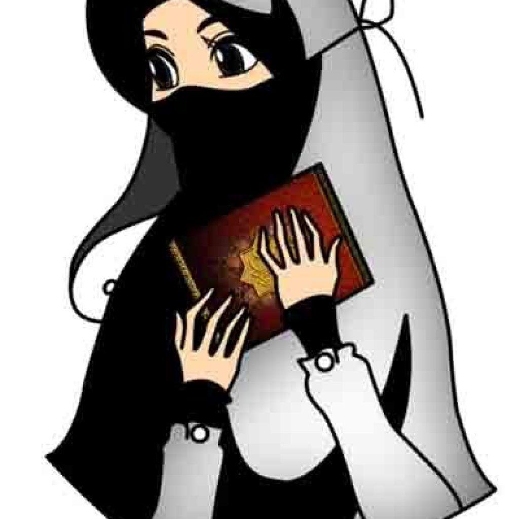 52+ Gambar Kartun Muslimah Solehah HD