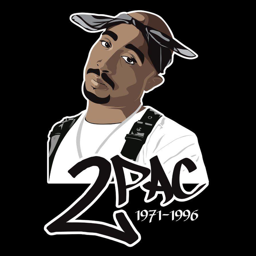 Tupac '2Pac' Shakur By Chadtrutt