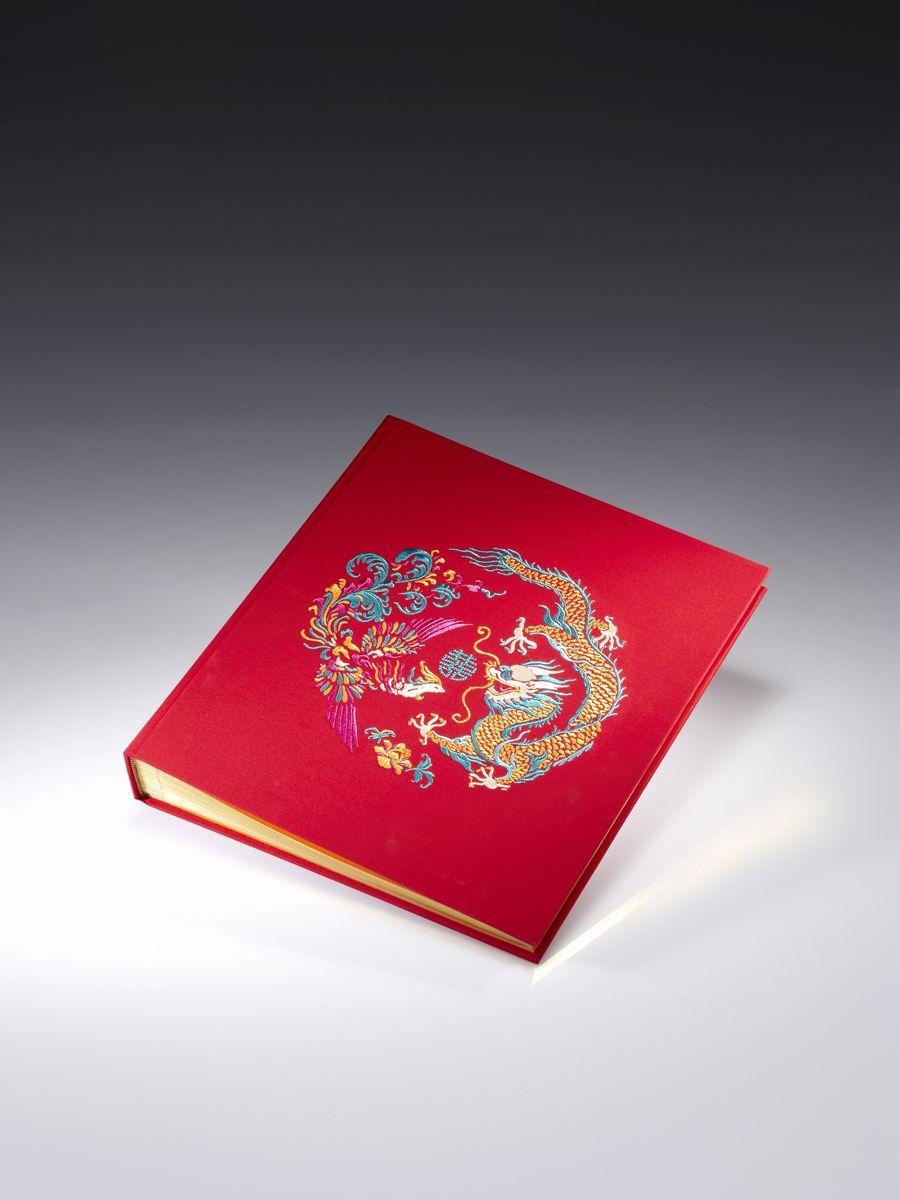 Dragon & Phoenix wedding photo album By Shanghai Tang | Awesome ...