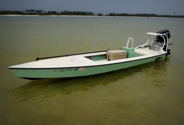 Flats stalker 18 18ft x ft hopeful draft of 4 5in for Fishing kayak under 300