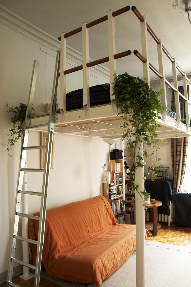 Homemade loft bed ideas  The Vancouver DIY loft T Loft kit is a ready to go flat packed