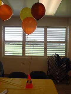 Butterfly Wishes, LLC: Construction Birthday Party