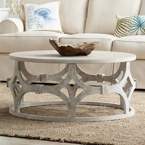 Lanini Whitewash Coffee Table