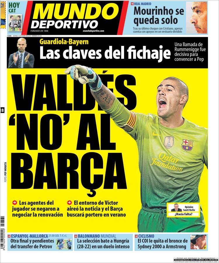 Pin en 18012013 Portadas Periodicos Diarios Spain News
