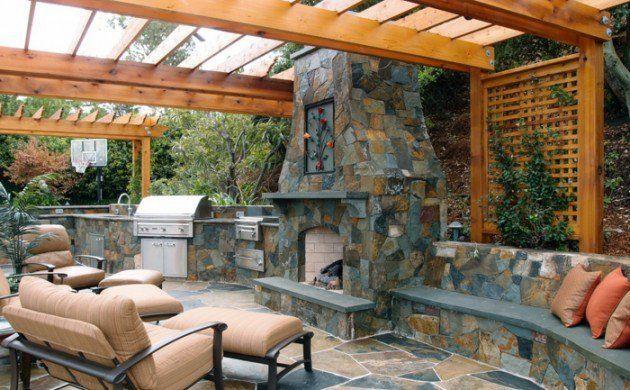 Außenküche Selber Bauen Holz : Außenküche selber bauen 22 gute ideen und wichtige tipps garten