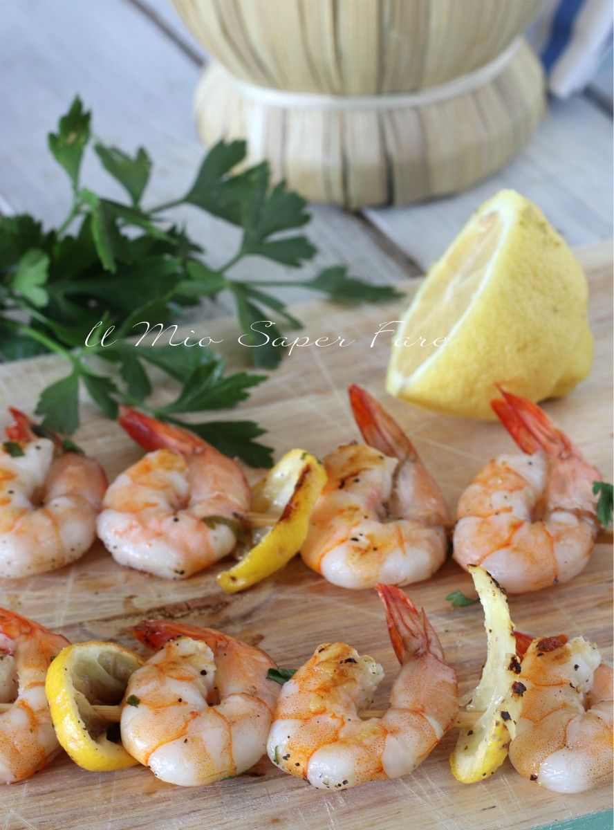 Photo of SHRIMPS of PRAWNS on the PLATE ready in 5 minutes
