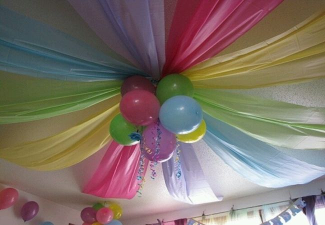 Decorating With Streamers And Balloons How To B Decorate A