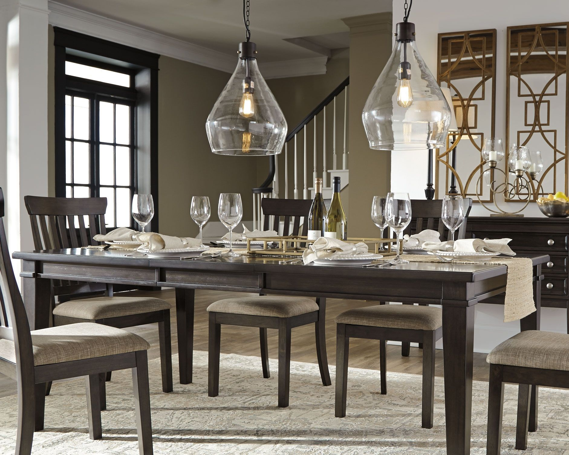 Alexee Dining Room Table Dark Brown Dining Room Table Dining